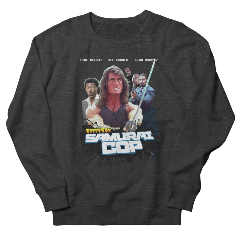 Samurai Cop Men's French Terry Sweatshirt by RiffTrax on Threadless!