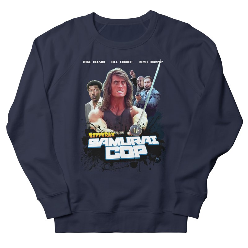 Samurai Cop Men's French Terry Sweatshirt by RiffTrax on Threadless!