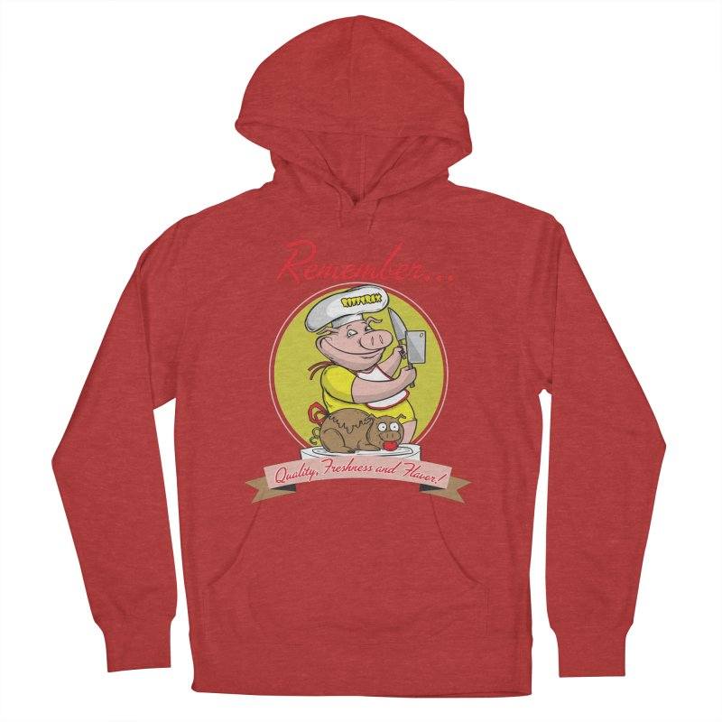 Quality Freshness and Flavor Women's French Terry Pullover Hoody by RiffTrax on Threadless!