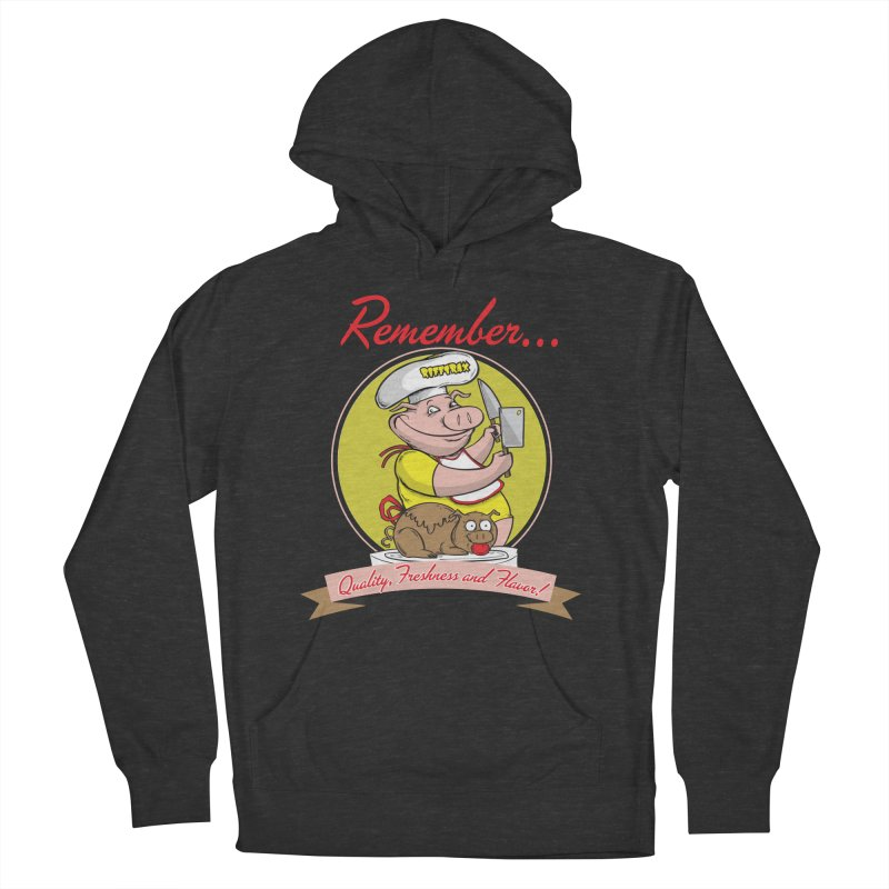 Quality Freshness and Flavor Men's French Terry Pullover Hoody by RiffTrax on Threadless!