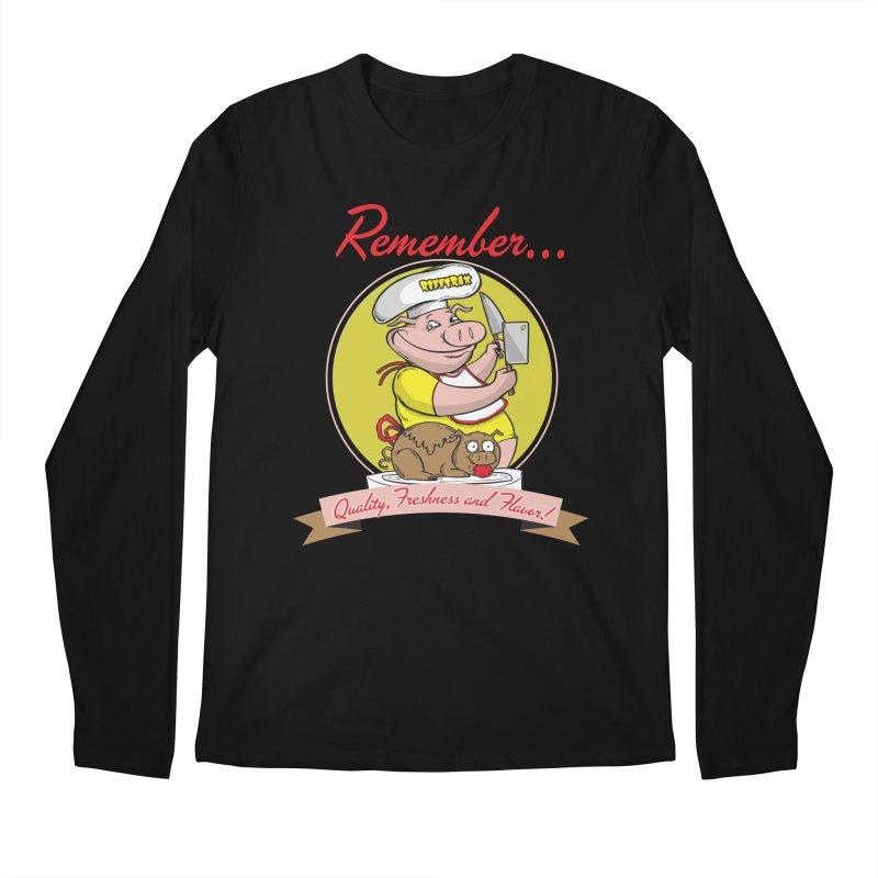 Quality Freshness and Flavor Men's Regular Longsleeve T-Shirt by RiffTrax on Threadless!