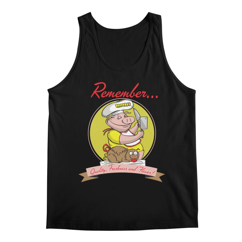 Quality Freshness and Flavor Men's Regular Tank by RiffTrax on Threadless!