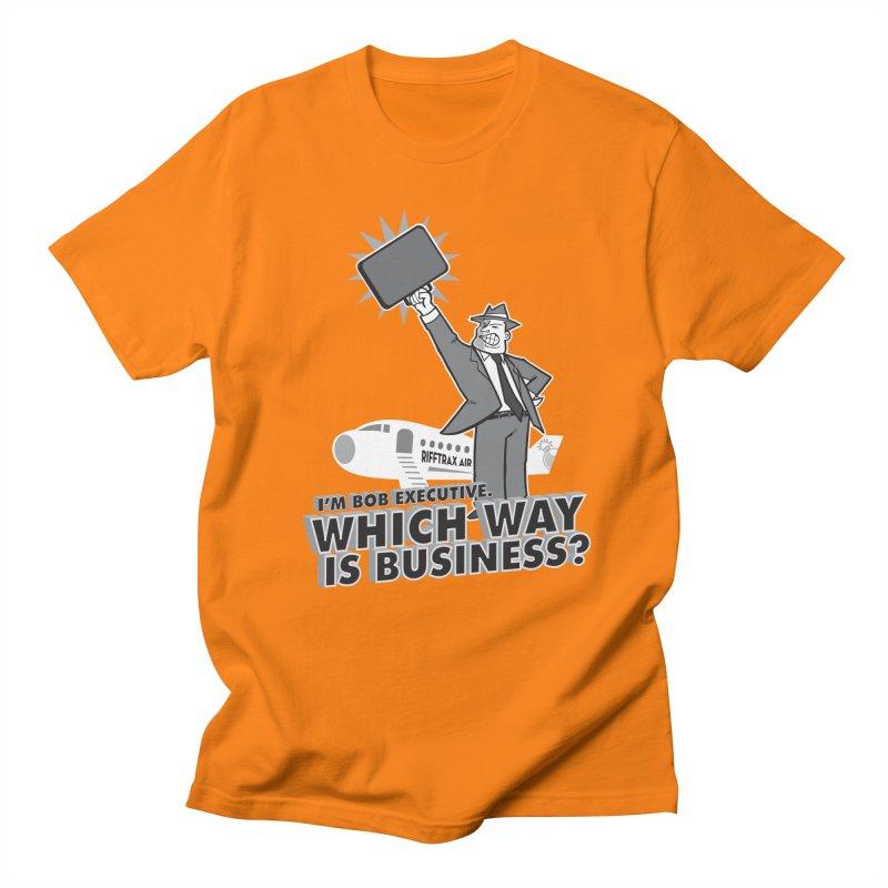 Bob Executive Men's T-shirt by RiffTrax on Threadless!