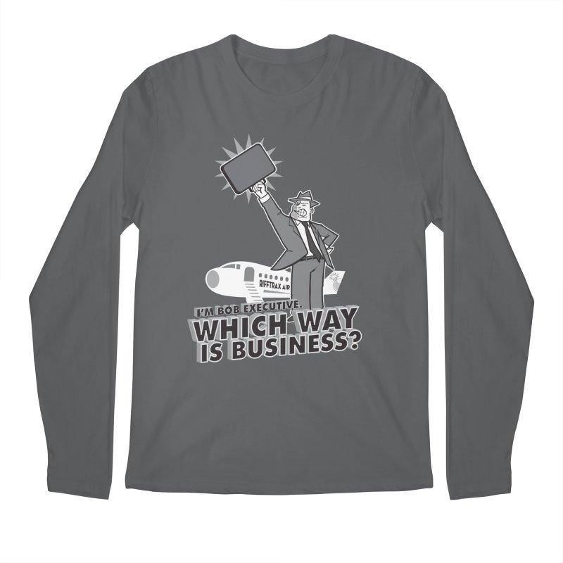 Bob Executive Men's Longsleeve T-Shirt by RiffTrax on Threadless!