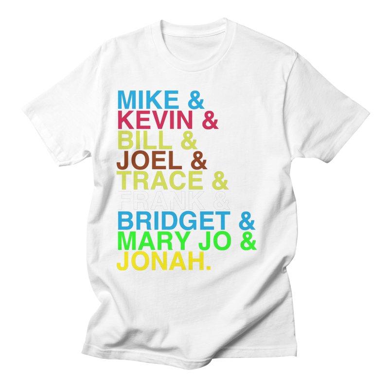 RiffTrax MST3K Reunion Roll Call Men's T-Shirt by RiffTrax on Threadless!