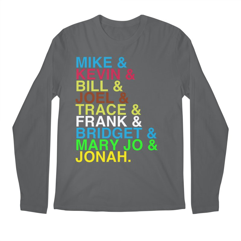 RiffTrax MST3K Reunion Roll Call Men's Longsleeve T-Shirt by RiffTrax on Threadless!