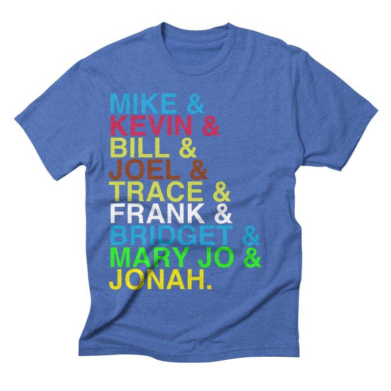RiffTrax MST3K Reunion Roll Call Men's Triblend T-shirt by RiffTrax on Threadless!