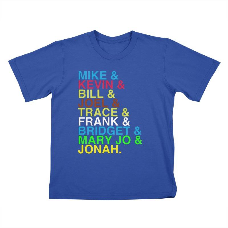 RiffTrax MST3K Reunion Roll Call Kids T-Shirt by RiffTrax on Threadless!