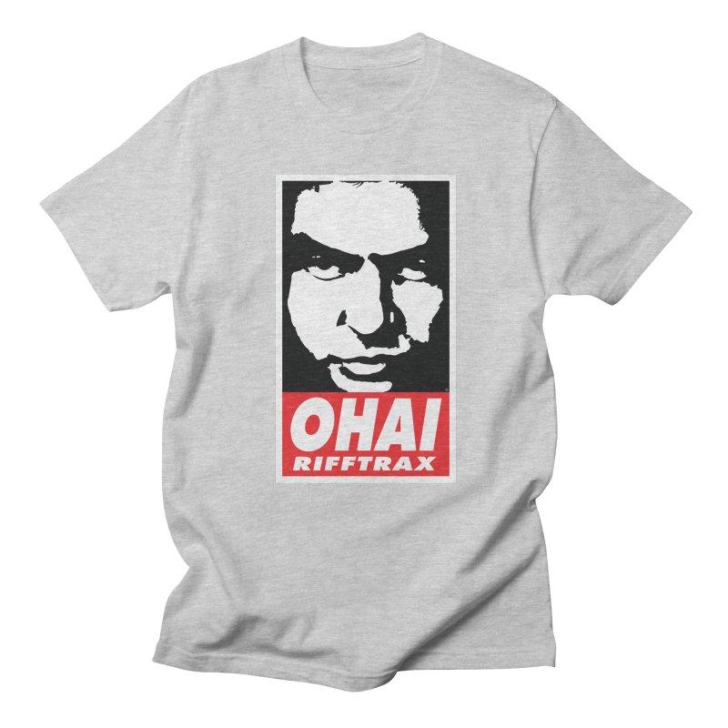 OHAI RiffTrax Men's Regular T-Shirt by RiffTrax on Threadless!