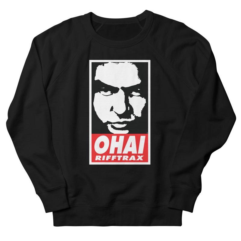 OHAI RiffTrax Men's French Terry Sweatshirt by RiffTrax on Threadless!
