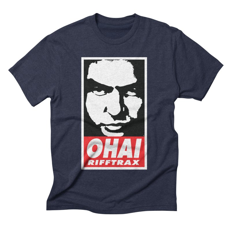 OHAI RiffTrax Men's Triblend T-shirt by RiffTrax on Threadless!