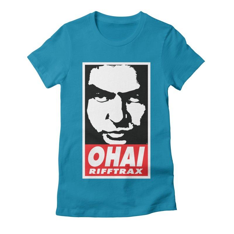 OHAI RiffTrax Women's Fitted T-Shirt by RiffTrax on Threadless!