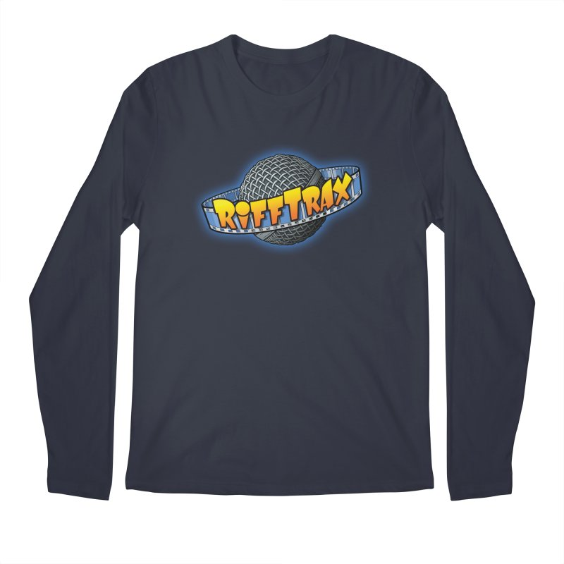 RiffPlanet RIFFTRAX LOGO Men's Longsleeve T-Shirt by RiffTrax on Threadless!