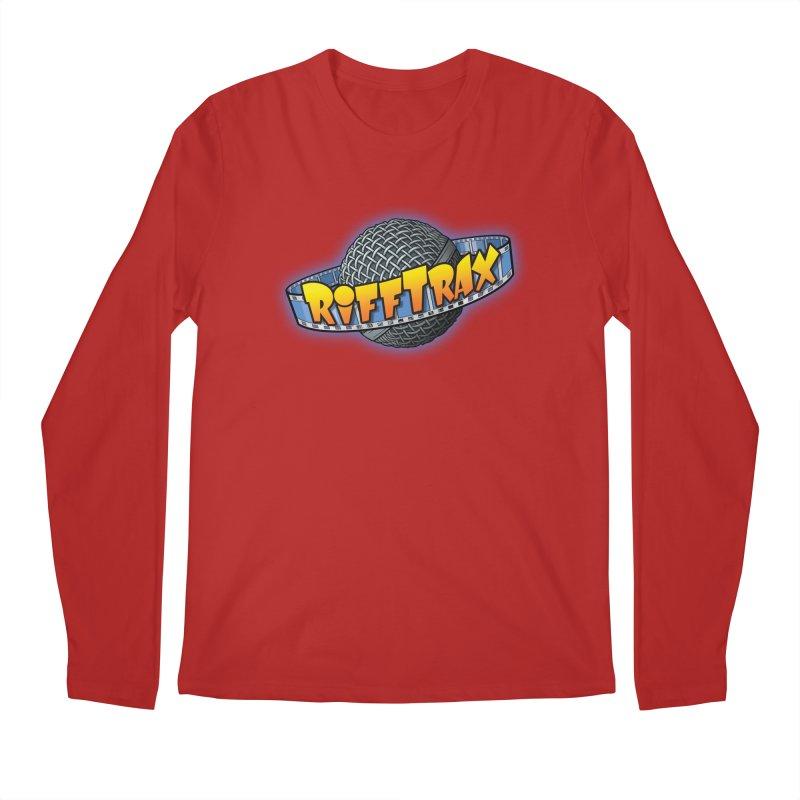 RiffPlanet RIFFTRAX LOGO Men's Longsleeve T-Shirt by RiffTrax on Threadless!