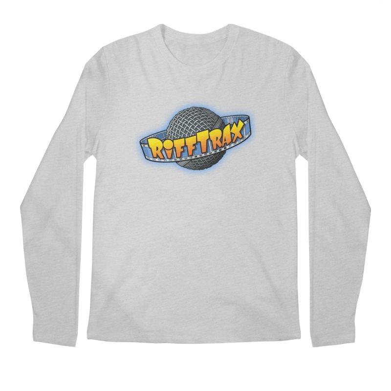 RiffPlanet RIFFTRAX LOGO Men's Regular Longsleeve T-Shirt by RiffTrax on Threadless!