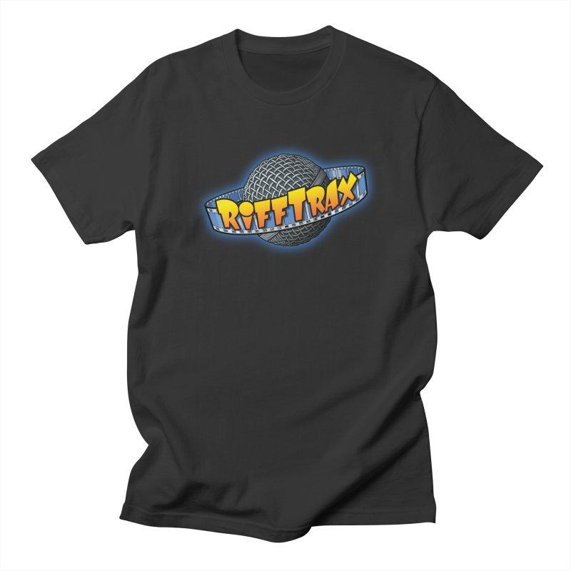 RiffPlanet RIFFTRAX LOGO Men's Regular T-Shirt by RiffTrax on Threadless!
