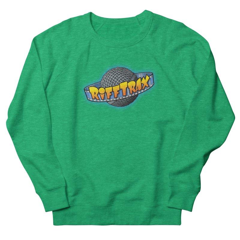 RiffPlanet RIFFTRAX LOGO Men's French Terry Sweatshirt by RiffTrax on Threadless!