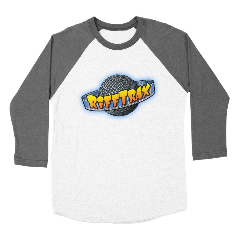RiffPlanet RIFFTRAX LOGO Women's Baseball Triblend Longsleeve T-Shirt by RiffTrax on Threadless!