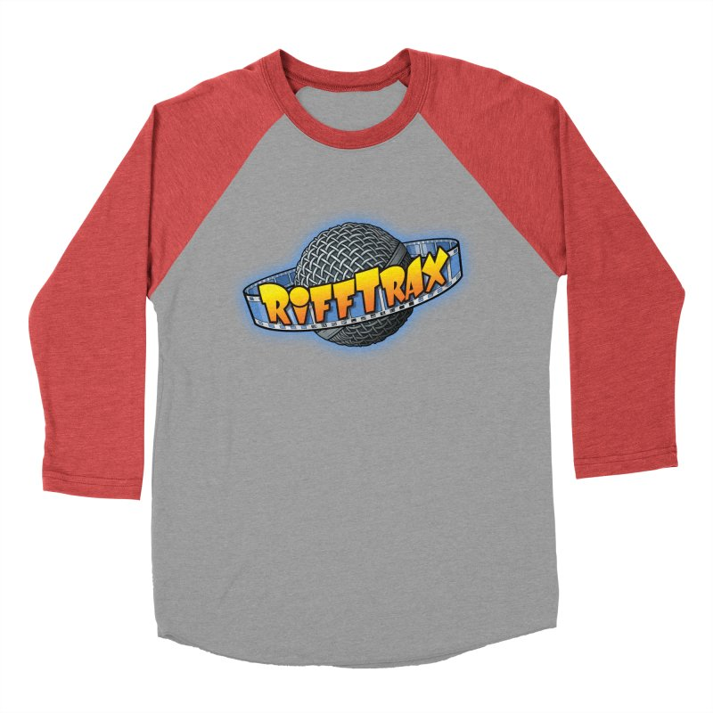 RiffPlanet RIFFTRAX LOGO Women's Baseball Triblend T-Shirt by RiffTrax on Threadless!