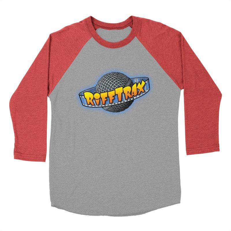 RiffPlanet RIFFTRAX LOGO Women's Baseball Triblend Longsleeve T-Shirt by RiffTrax on Threadless!