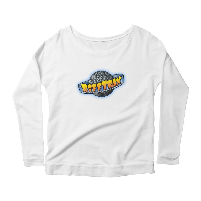RiffPlanet RIFFTRAX LOGO Women's Scoop Neck Longsleeve T-Shirt by RiffTrax on Threadless!