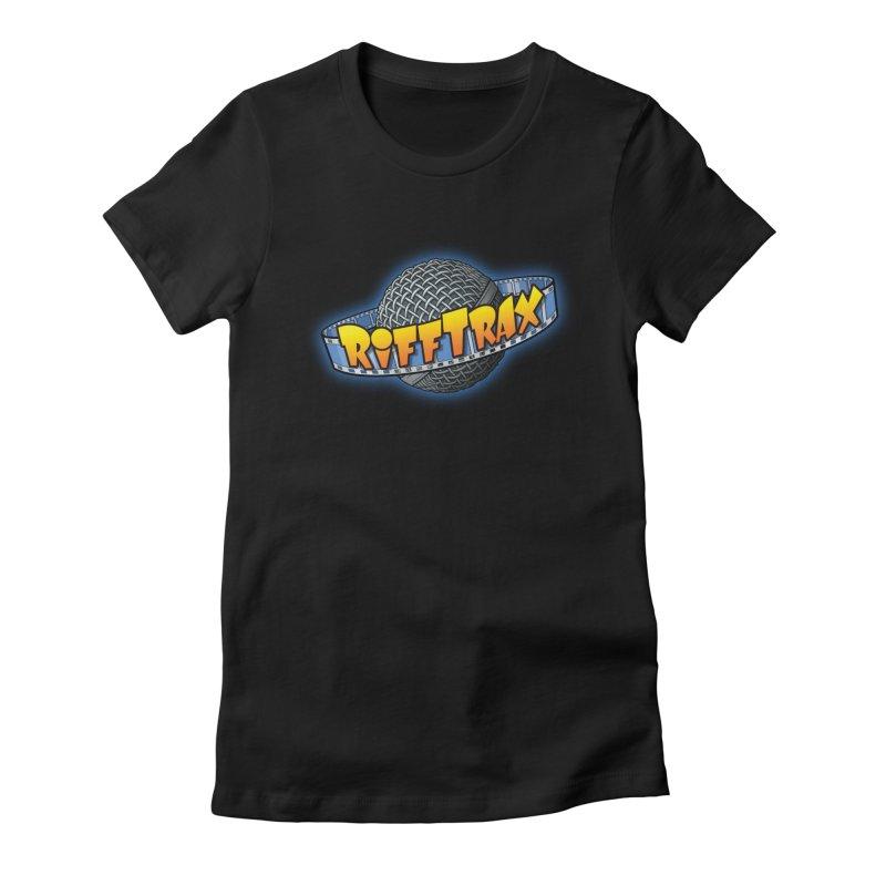 RiffPlanet RIFFTRAX LOGO Women's Fitted T-Shirt by RiffTrax on Threadless!