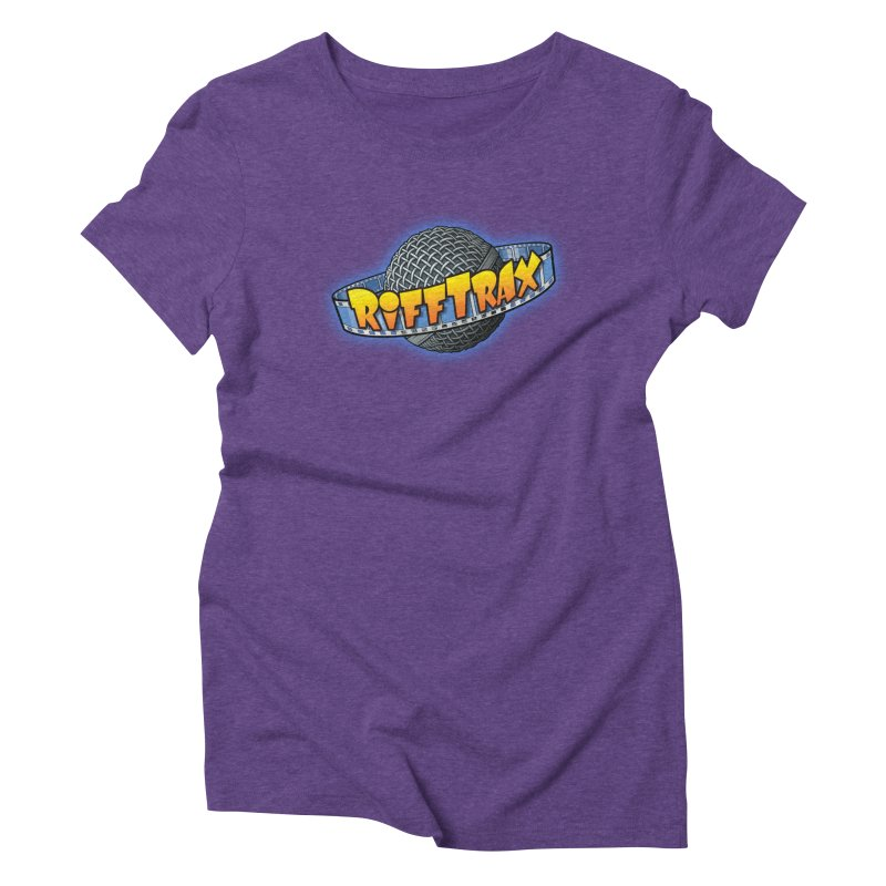 RiffPlanet RIFFTRAX LOGO Women's Triblend T-Shirt by RiffTrax on Threadless!