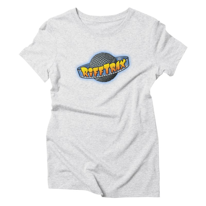 RiffPlanet RIFFTRAX LOGO Women's Triblend T-Shirt by RiffTrax on Threadless!