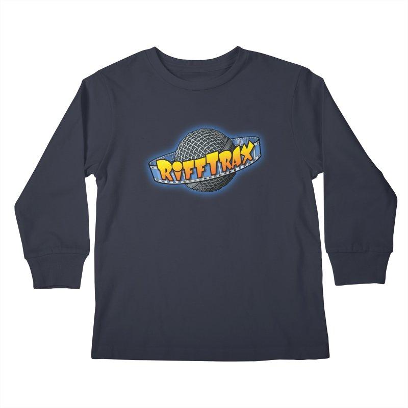 RiffPlanet RIFFTRAX LOGO Kids Longsleeve T-Shirt by RiffTrax on Threadless!