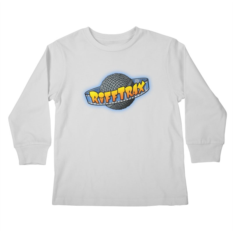 RiffPlanet RIFFTRAX LOGO Kids Longsleeve T-Shirt by RiffTrax on Threadless!