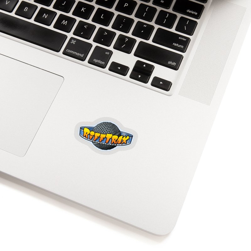 RiffPlanet RIFFTRAX LOGO Accessories Sticker by RiffTrax on Threadless!