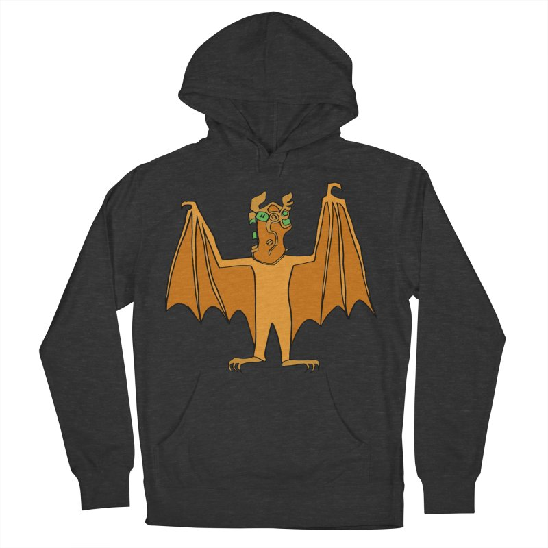 Demon Bat Women's French Terry Pullover Hoody by RiffTrax on Threadless!