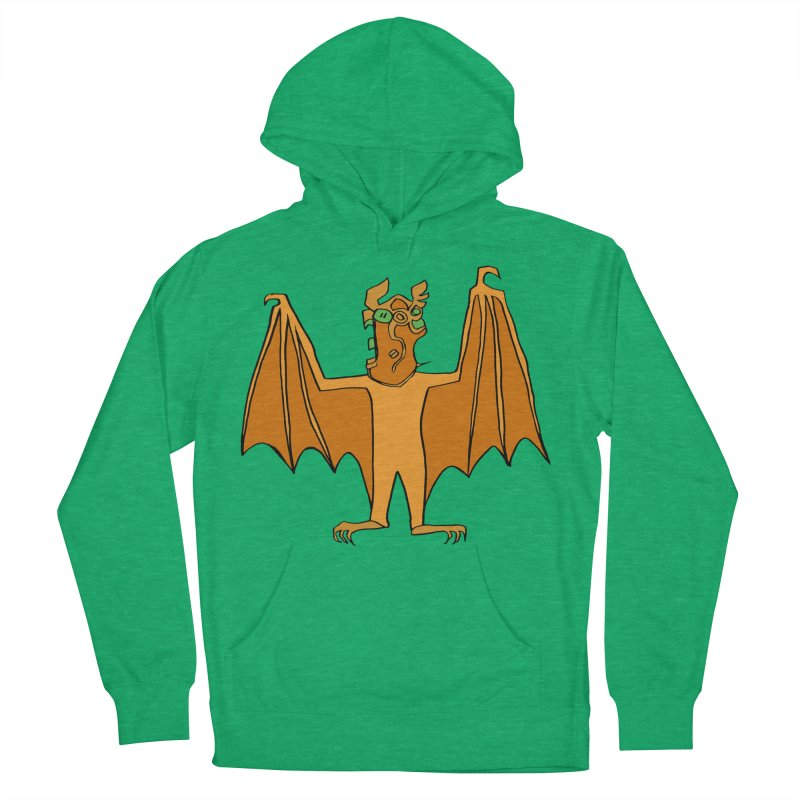 Demon Bat Men's French Terry Pullover Hoody by RiffTrax on Threadless!
