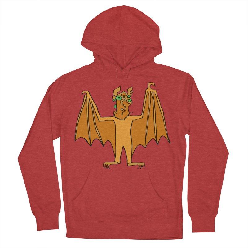 Demon Bat Men's French Terry Pullover Hoody by RiffTrax on Threadless!