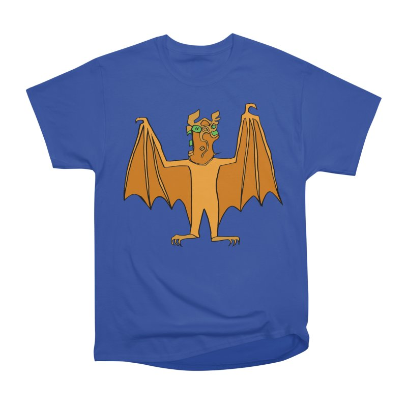 Demon Bat Women's Heavyweight Unisex T-Shirt by RiffTrax on Threadless!