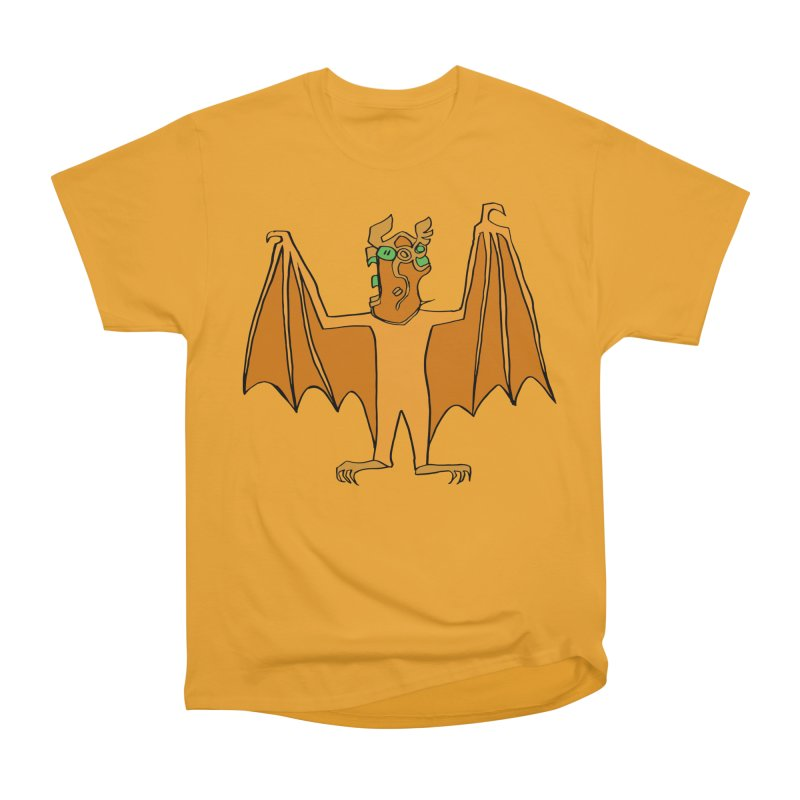 Demon Bat Women's Heavyweight Unisex T-Shirt by RiffTrax on Threadless!