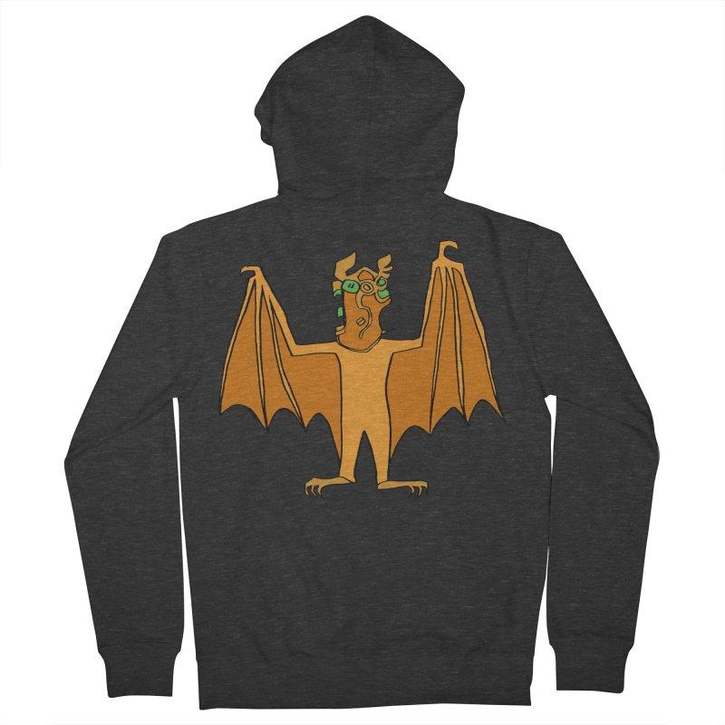 Demon Bat Women's French Terry Zip-Up Hoody by RiffTrax on Threadless!