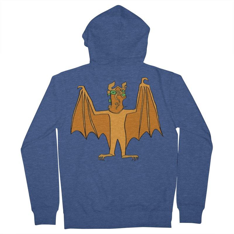 Demon Bat Men's French Terry Zip-Up Hoody by RiffTrax on Threadless!