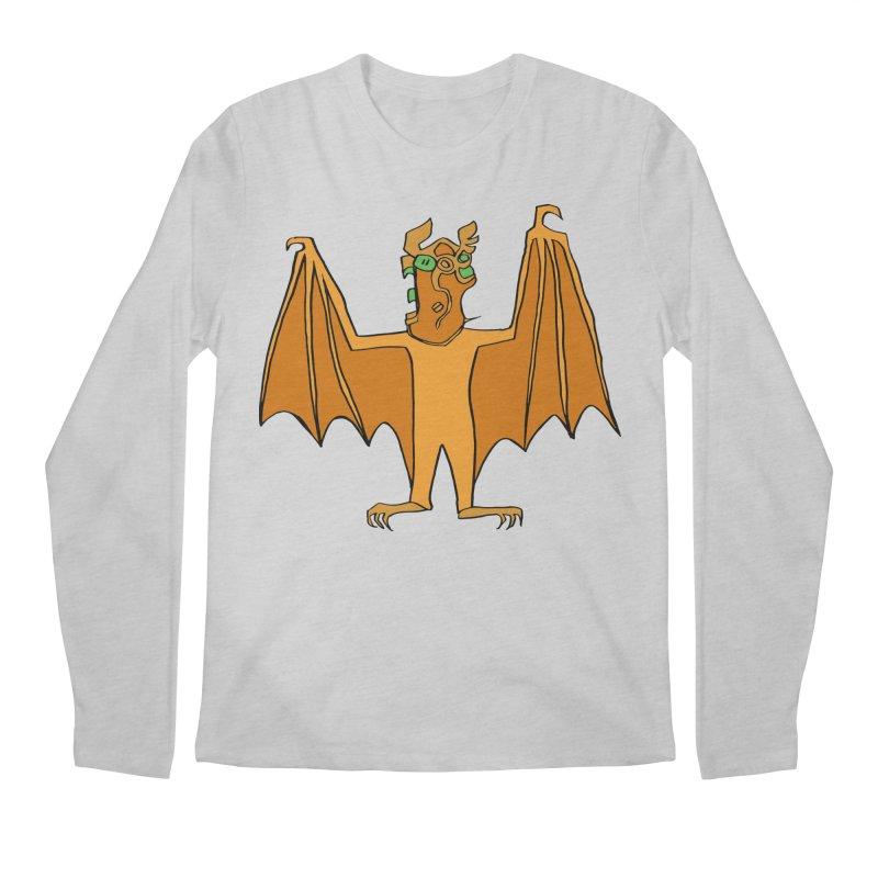 Demon Bat Men's Regular Longsleeve T-Shirt by RiffTrax on Threadless!