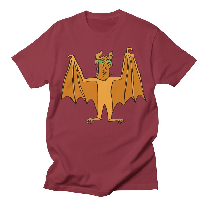 Demon Bat Men's Regular T-Shirt by RiffTrax on Threadless!