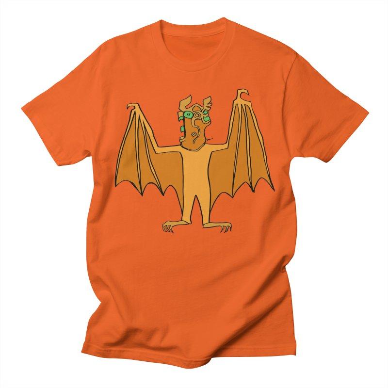 Demon Bat Women's Regular Unisex T-Shirt by RiffTrax on Threadless!