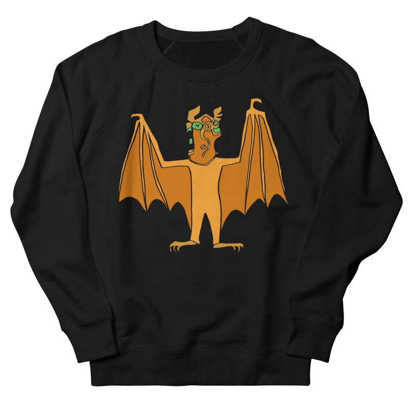Demon Bat Women's French Terry Sweatshirt by RiffTrax on Threadless!