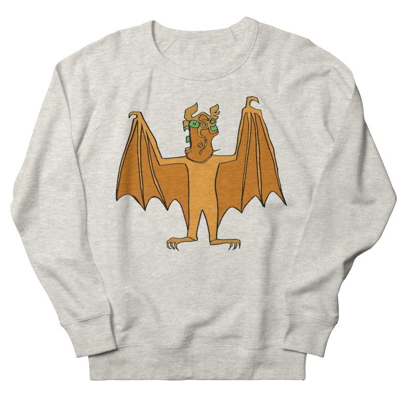 Demon Bat Men's French Terry Sweatshirt by RiffTrax on Threadless!