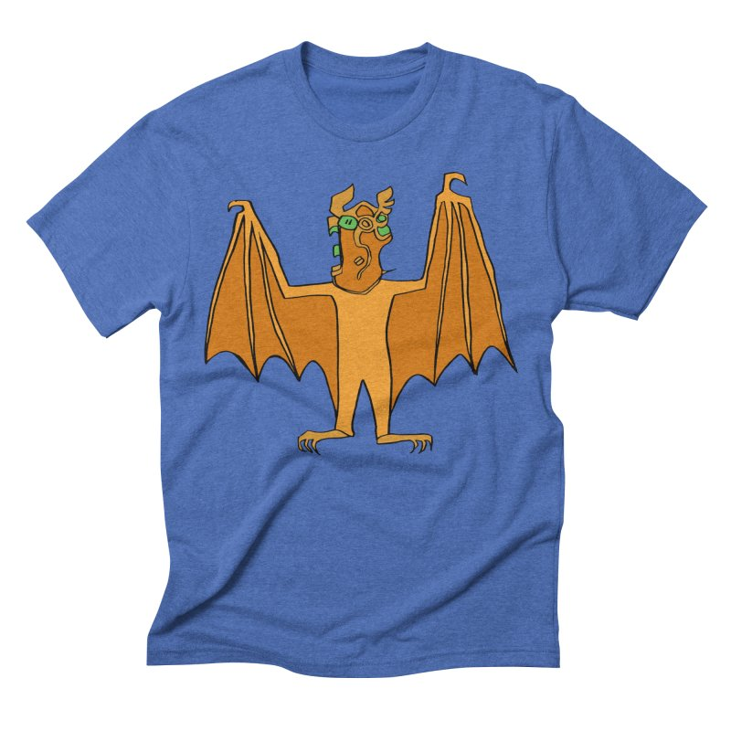 Demon Bat Men's Triblend T-Shirt by RiffTrax on Threadless!