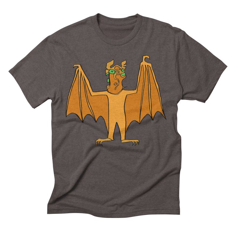 Demon Bat Men's Triblend T-Shirt by RiffTrax on Threadless!