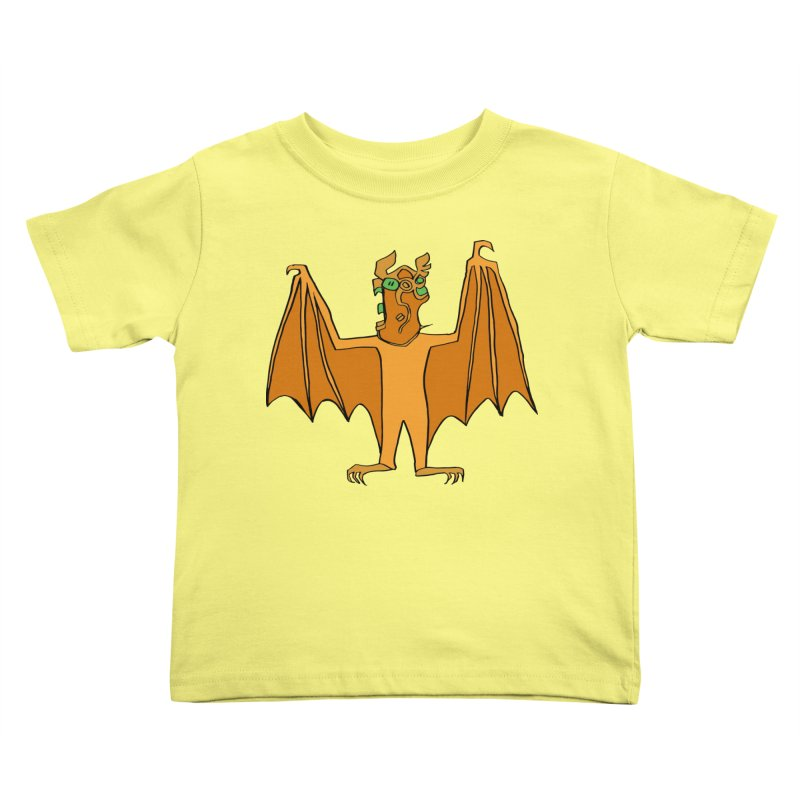 Demon Bat Kids Toddler T-Shirt by RiffTrax on Threadless!