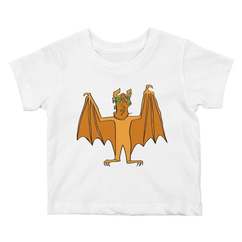 Demon Bat Kids Baby T-Shirt by RiffTrax on Threadless!