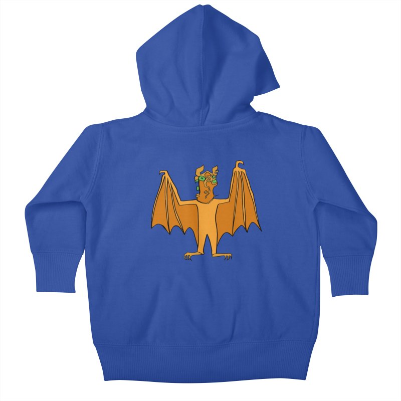 Demon Bat Kids Baby Zip-Up Hoody by RiffTrax on Threadless!