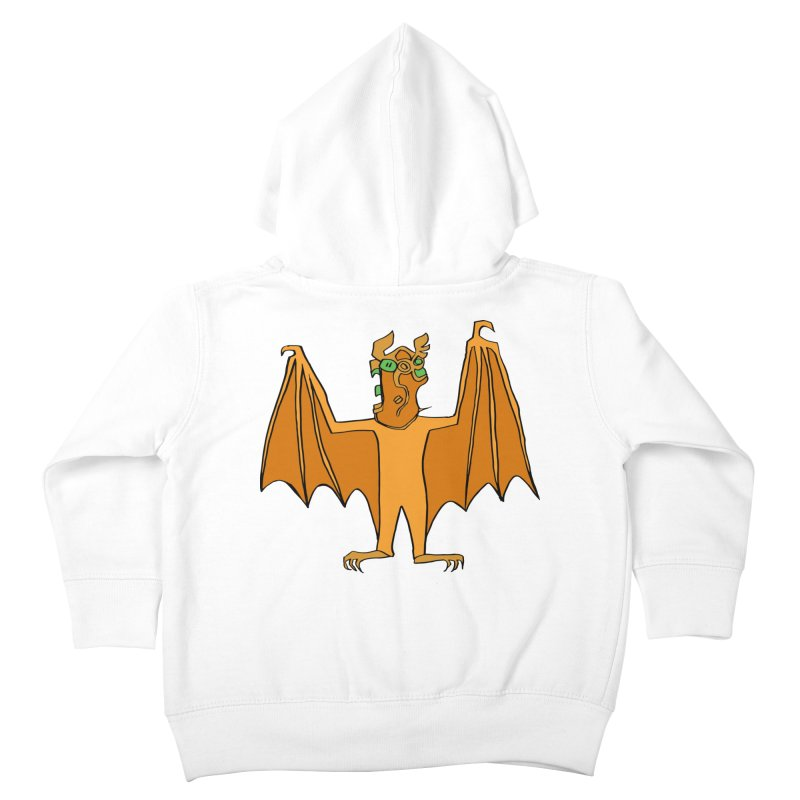 Demon Bat Kids Toddler Zip-Up Hoody by RiffTrax on Threadless!