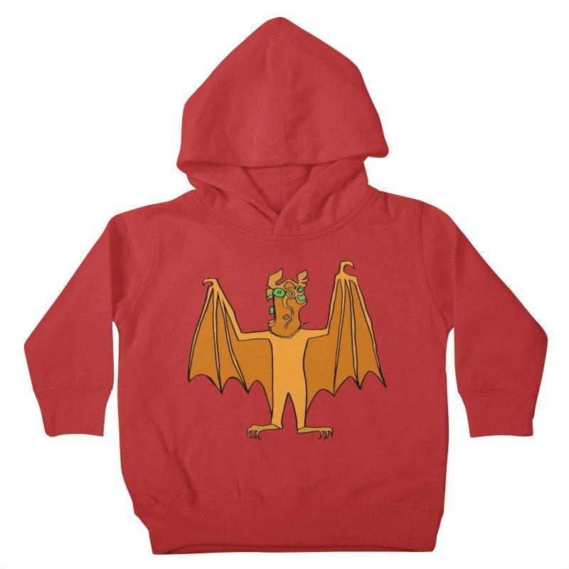 Demon Bat Kids Toddler Pullover Hoody by RiffTrax on Threadless!